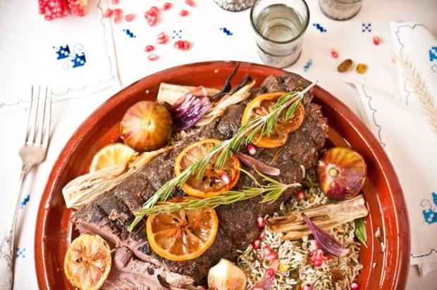 The feast by NYShuk aims to introduce Jewish-Morrocan food for the High Holidays.