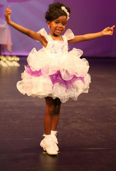 Dozens of girls competed in the first Precious Princess pageant this spring.