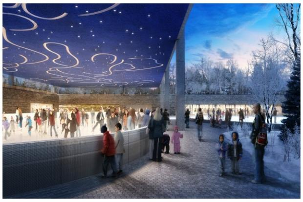 Prospect Park officials confirmed that two new ice-skating rinks will open this December.
