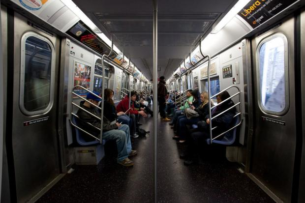 The 'R' trains have been switched to newer looking cars as a result of work in the Montague Tubes, according to the MTA.
