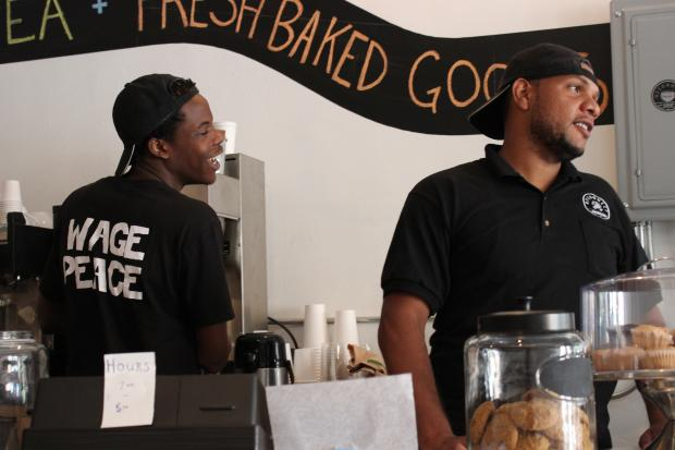 Re-Connect Cafe, at 139 Tompkins Ave., provides economic opportunity as well as a new outlet for kids.