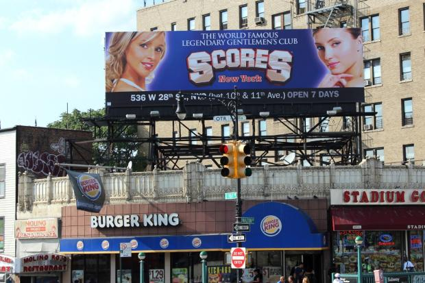Strip club new york scores