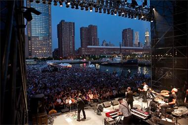 The Specials performed at Pier 26 in July. Residents have complained about the noise levels from the large shows on the pier.