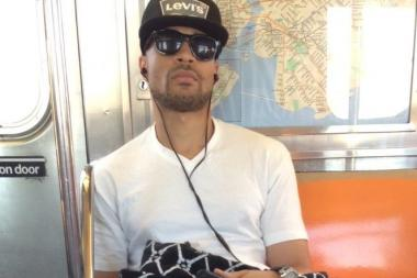 Cops say this man pleasured himself in front of straphangers on the 7 train Thursday morning.