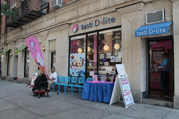 Two new frozen yogurt shops are on the verge of opening along Amsterdam Avenue.