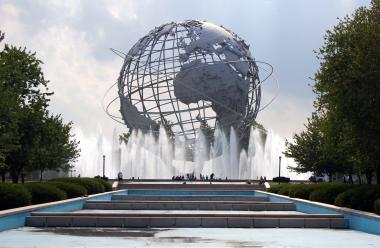 The Queens Theatre is inside Flushing Meadows-Corona Park.