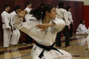 Okinawa Karate offers free self defense classes for women each month.