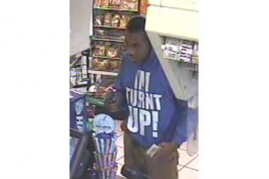 Police are looking for this man wanted in connection with the armed robbery of a Staten Island gas station on Aug. 30, 2013.