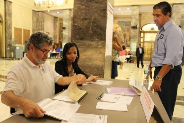 The borough faced some poll-site problems, with a chunk of its votes still uncounted Wednesday morning.