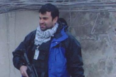 Ali Soufan seen in Kabul, Afghanistan, after 9/11 and during the hunt for Osama bin Laden.