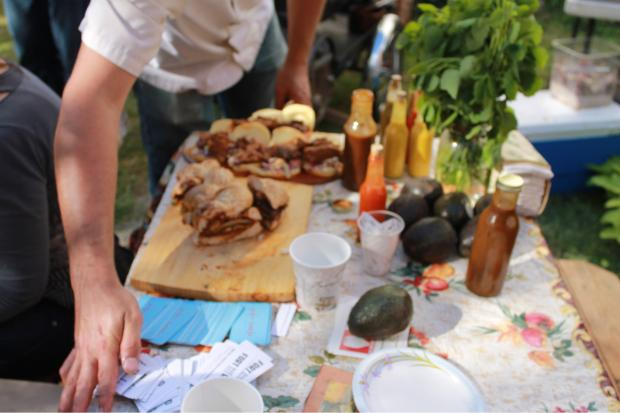 A grilled sandwich cook-off at the Amazing Garden will have local chefs competing with their best recipes.