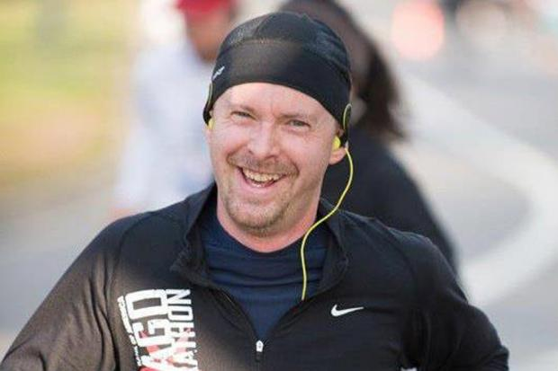 Marathoner Andrew Billington was attacked from behind Saturday, sources said.