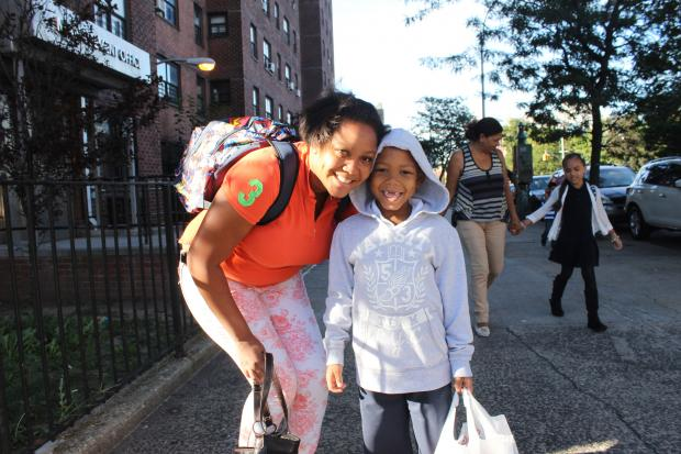 Monday marked the first day of public school classes in Washington Heights and Inwood.