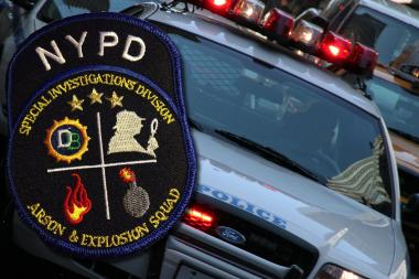 The NYPD is hunting for a bomb maker behind three devices left in Staten Island.