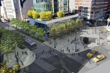 Reconstruction on Astor Place and Cooper Square is expected to be completed in fall 2016, officials said.