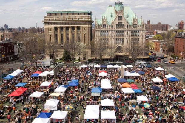 The popular Brooklyn Flea outdoor market will take over the space in front of P.S. 321 in October.