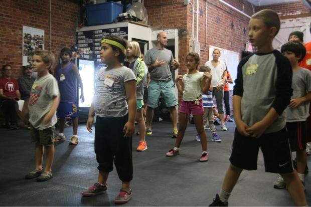 Columbia Street CrossFit is hosting a childrens' program for toddlers and teens.