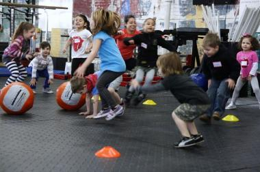 CrossFit Gantry in Long Island City will offer a summer camp program for kids.