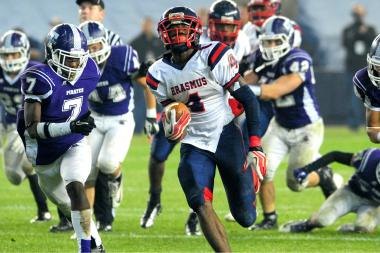 After leading Erasmus Hall to the PSAL title in December, Curtis Samuel has verbally committed to Ohio State University.