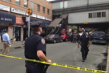 A 69-year-old man was fatally stabbed near Roosevelt Avenue and 90th Street in Jackson Heights on Monday, Sept. 16, 2013.