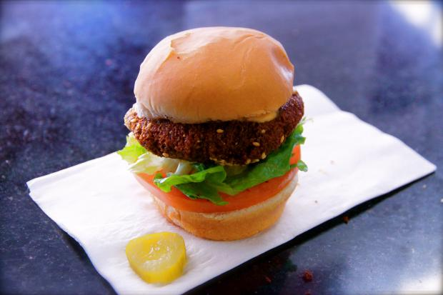 Tarrator Falafel & Grill, located at 1163 Second Ave. and East 61st Street, is now serving falafel sliders.