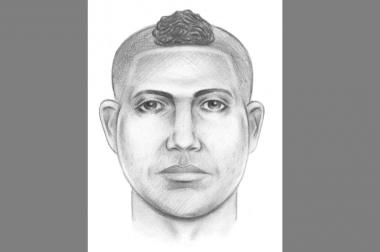 Cops are looking for a man with a Mohawk who groped a woman while riding a bicycle in Astoria last weekend.