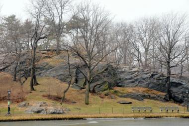 The Central Park Conservancy is planning to rehab Fort Clinton, pictured here, and Nutter's Battery. These elevated portions of the Park played important strategic roles in the American Revolution and War of 1812.