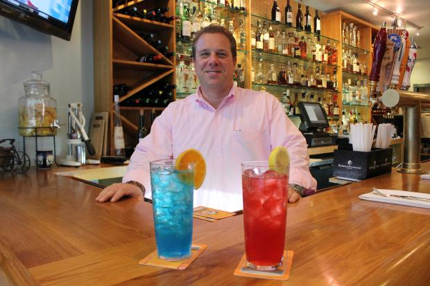 Greensquare Tavern will offer 'Lhota' and 'DeBlasio' cocktails through the election, owner says.