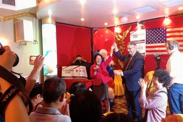Councilwoman Margaret Chin won a second term with the Democratic primary results Sept. 10, 2013.
