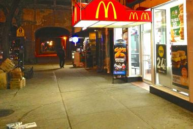 Residents say McDonalds on Continental Avenue attracts rowdy teens.