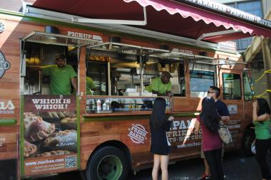 Food trucks have vastly expanded the lunch selection in Midtown.