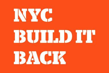 The deadline to register for the city's Build It Back program was extended to Oct. 31.