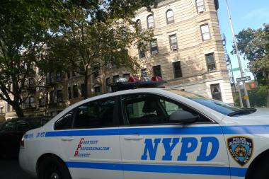 Police responded to an attempted break-in at Eighth Avenue and Eighth Street in Park Slope on Thursday, Sept. 26, cops said.