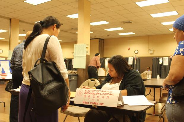 Dozens of voters arrived at poll sites in Washington Heights and Inwood on Tuesday only to be sent to other locations.