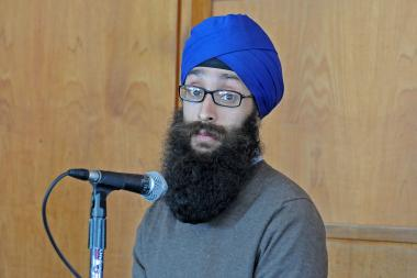 "Dr. Prabhjot Singh, a professor at Columbia University, was beaten by a group of young men in Harlem who shouted ""Osama"" and ""terrorist,"" Singh said while speaking at Columbia Monday morning."