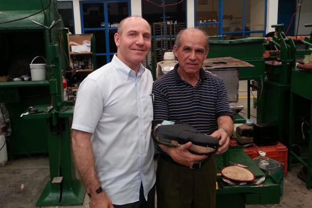 When Steve Kaufman's son had to wear a restrictive brace, he designed a snap-on shoe.