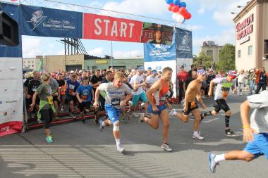 Thousands raced through the Battery Tunnel on Sunday, September 29, 2013.