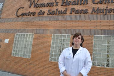 Sara Stern has helped promote Wyckoff Heights Medical Center among fellow women in the Hasidic community.