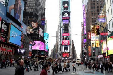 "A Diwali ""Festival of Lights"" celebration in Times Square on Sunday, Sept. 20, 2013, is expected to attract thousands of revelers, organizers said."