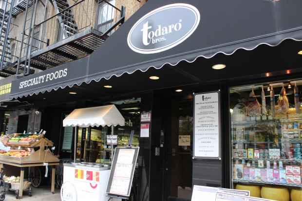 Todaro Brothers is planning to add up to 20 seats and a bistro menu to its current space.