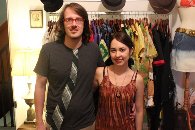 Vianova, an antique and vintage boutique in Bed-Stuy, has relocated to a second-floor apartment building.