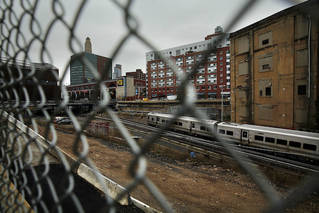 The developer of the heavily taxpayer-subsized Atlantic Yards project in Brooklyn has been going to court for the past three years to get the city to lower the property tax assessments of various parcels of land.