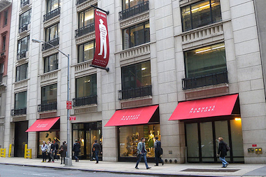 A Barneys shoplifter was caught stealing two Givenchy T-shirts worth $1,240 last week, police say.