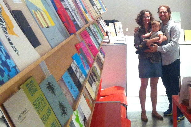 The owners of Berl's Brooklyn Poetry Shop will celebrate its grand opening in DUMBO on Nov. 2.