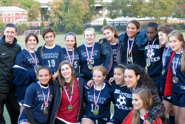 Tiny Brooklyn Friends is emerging as one of the city's elite girls soccer teams.