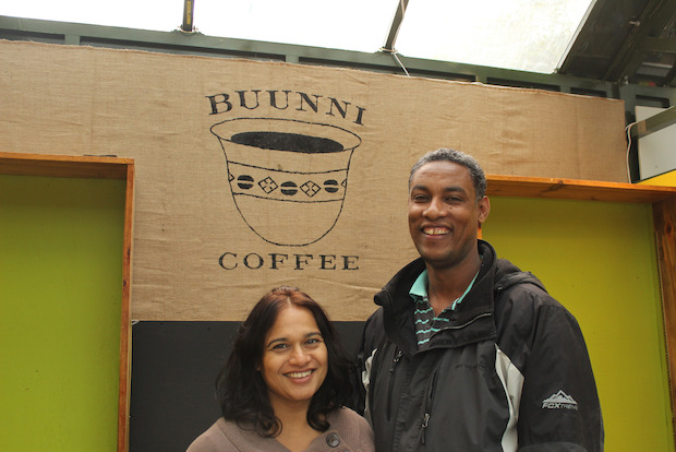 Uptown's Buunni Coffee will be at the Bryant Park Holiday Market until Jan. 5.
