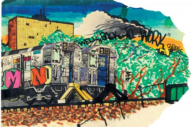 "A collection of work by well-known New York graffiti artists is featured in a new book, called ""City as Canvas""."