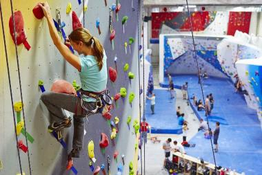 The Cliffs at LIC will debut at 11-11 44th Dr. in Long Island City Oct. 5, promising to be one of the largest rock climbing gyms in the country with over 30,000 square feet of climbing terrain that can fit up to 500 climbers at once.