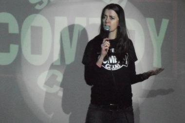 Comedian Carmen Lynch was the winner of the She-Devil Comedy Festival in 2012.