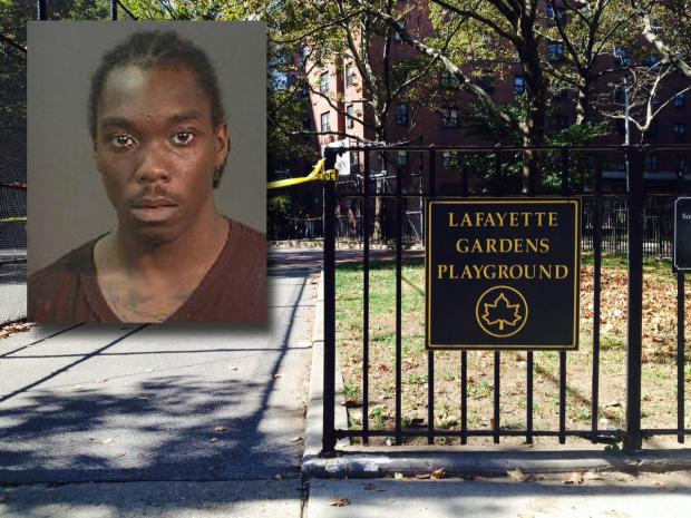 Corey Brown, 21, was arrested in Connecticut Tuesday after being on the lam for more than a month after allegedly shooting and killing Nicoleia Taylor, 24, in Bed-Stuy.